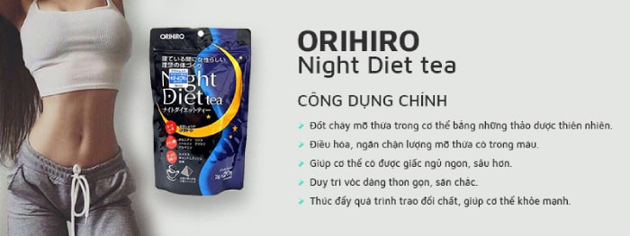 night diet tea orihiro