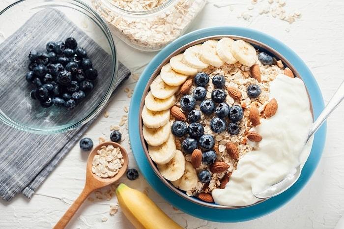 thực đơn buổi sáng cho người giảm cân