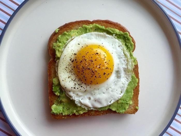 thực đơn bữa sáng giảm cân