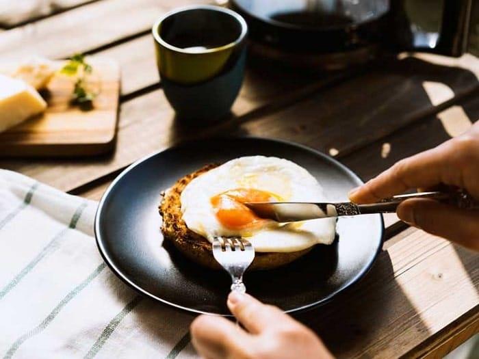 thực đơn giảm cân vào buổi sáng