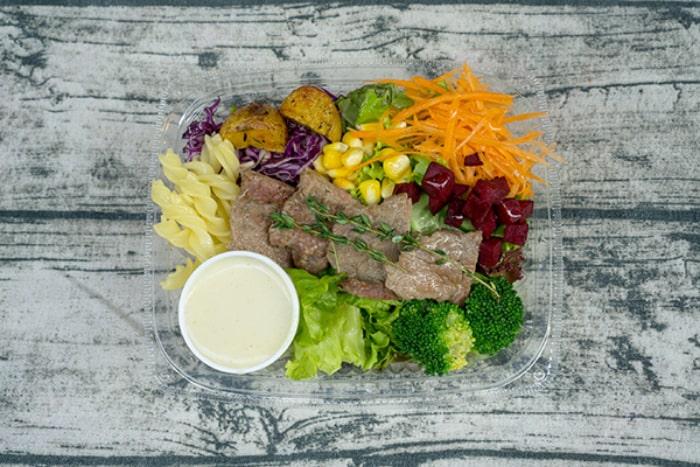thực đơn giảm cân với rau luộc