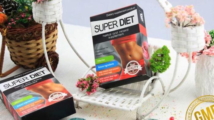 thuốc giảm cân super diet có tốt không