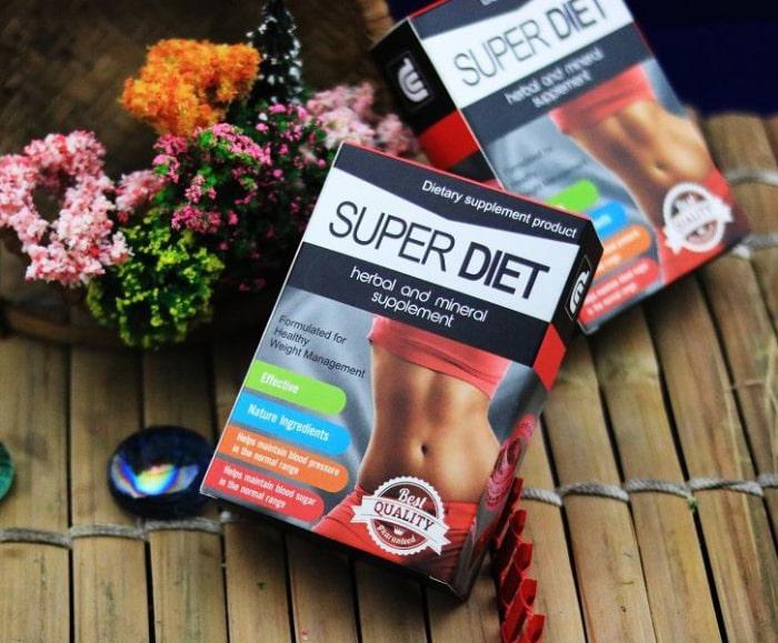 thuốc giảm cân super diet thai lan