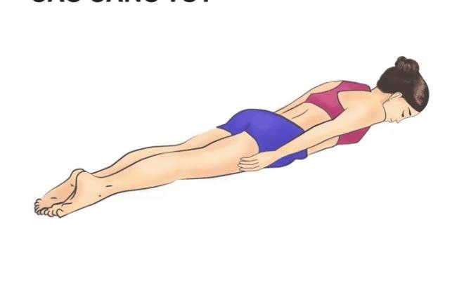nằm sấp có giảm mỡ bụng không