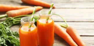 nước ép cà rốt giảm cân