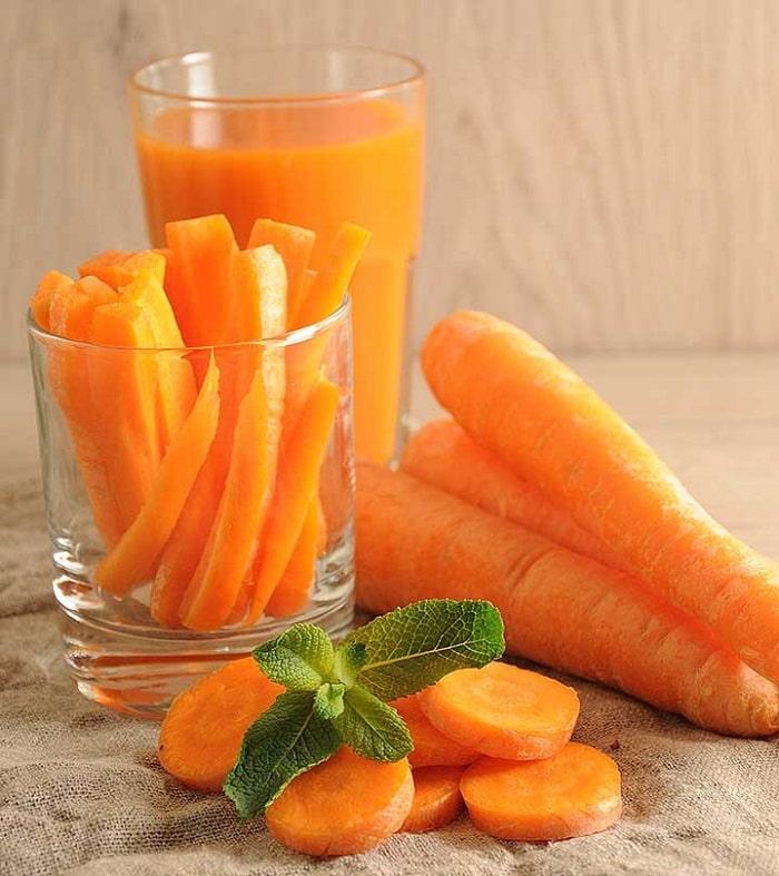 ăn cà rốt giảm cân
