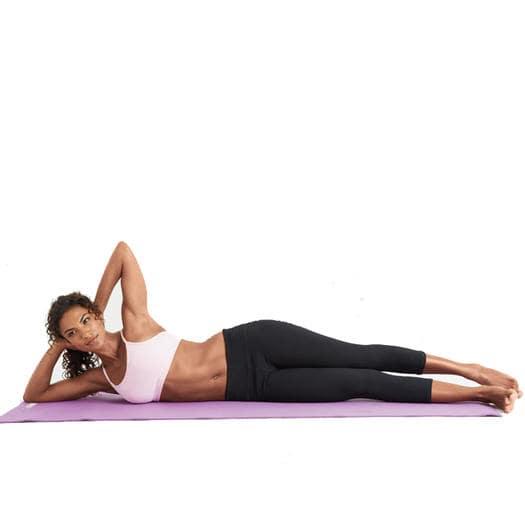 bài tập pilates giảm mỡ bụng