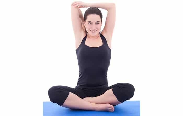 Đây là một trong các bài tập Pilates tăng chiều cao.