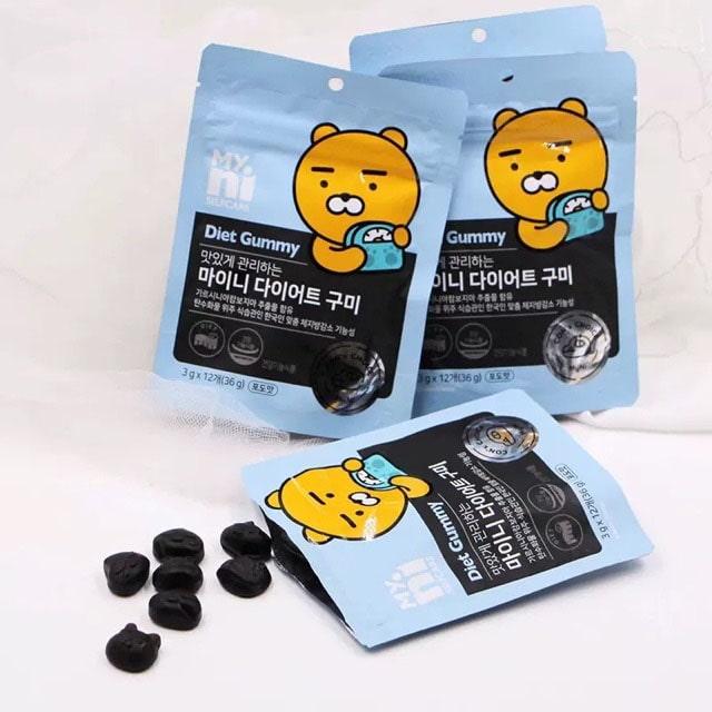 kẹo giảm cân diet gummy review