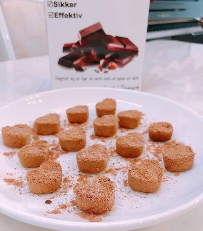 kẹo chocolate giảm cân đan mạch