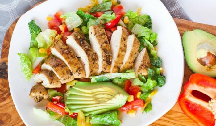 salad giảm cân đẹp da