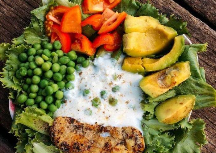salad giảm cân hiệu quả