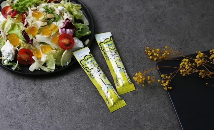 Salad kết hợp thạch giảm cân Fudi Body Confidence