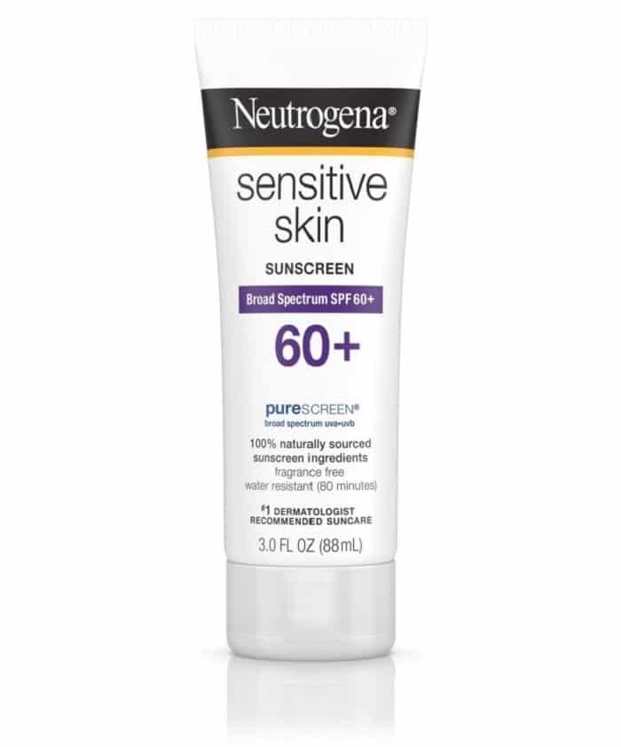 Kem chống nắng Neutrogena cho da nhạy cảm.