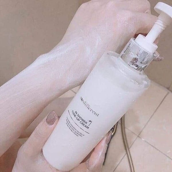 medifferent in shower tone-up cream 300ml