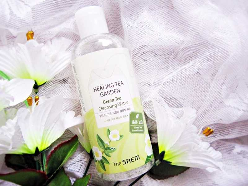 nước tẩy trang healing tea garden cleansing water the saem