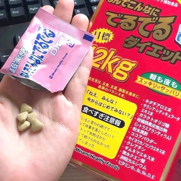 Thuốc giảm cân 12kg của Nhật sử dụng 1 gói mỗi ngày