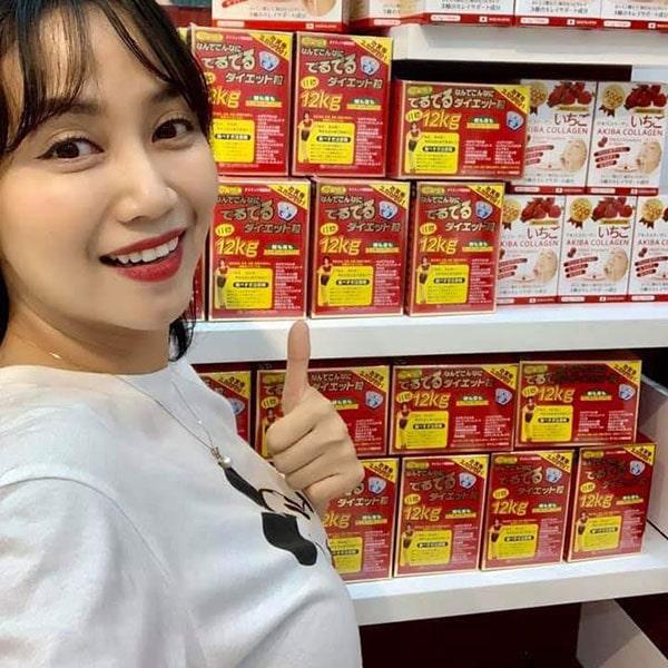Ốc Thanh Vân phản hồi chất lượng thuốc giảm cân 12kg của Nhật tốt