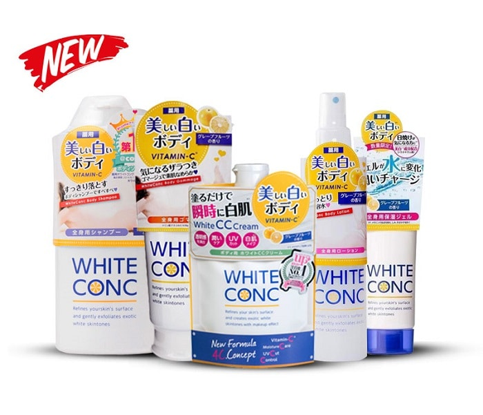 white conc review
