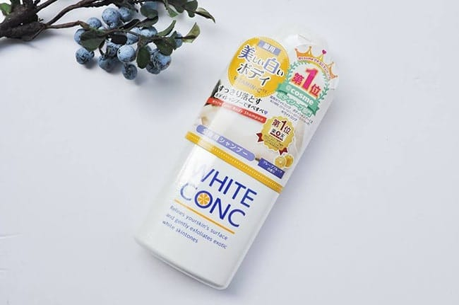 review white conc