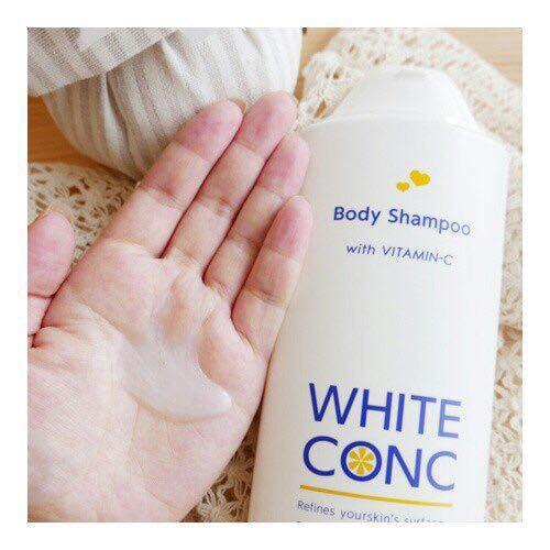 sữa tắm trắng white conc