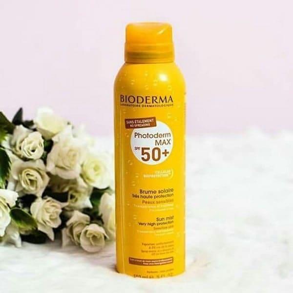 kem chống nắng dạng xịt bioderma