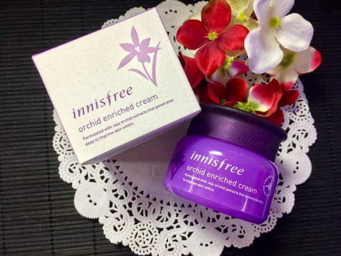 Kem dưỡng da Innisfree Jeju Orchid Enriched Cream thành phần nguyên liệu tự nhiên