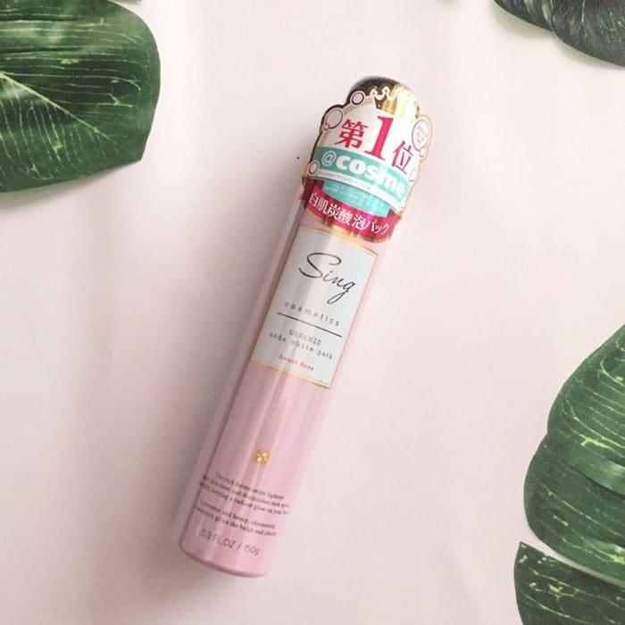 Mặt nạ thải độc Sing Cosmetics Organic Soda White Pack