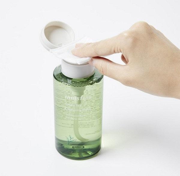 nước tẩy trang innisfreetrà xanh