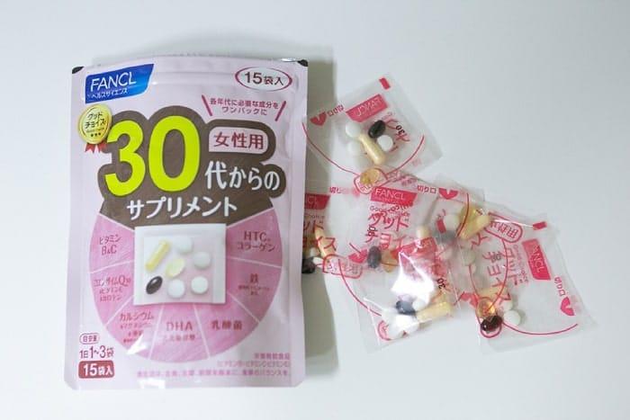 viên uống vitamin tổng hợpfancl