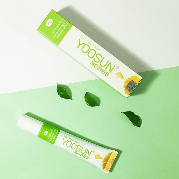 kem trị mụn yoosun acnes