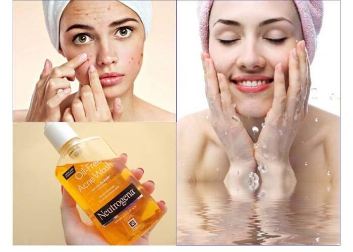 sữa rửa mặt neutrogena oil-free acne washsheis