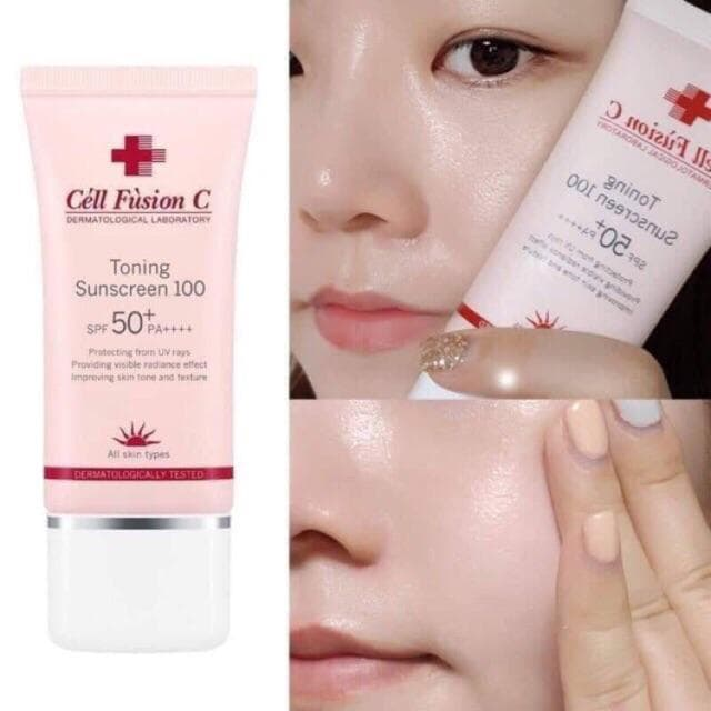 cell fusion c toning sunscreen