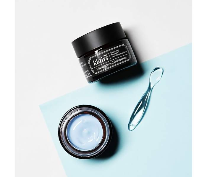 klairs midnight blue calming cream sheis