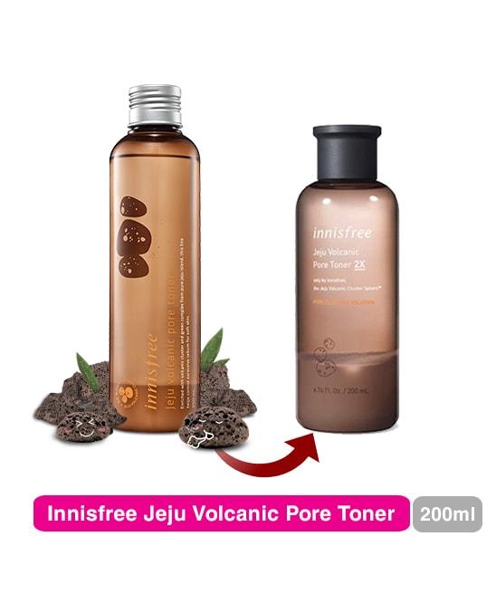 innisfree jeju volcanic pore toner2x review