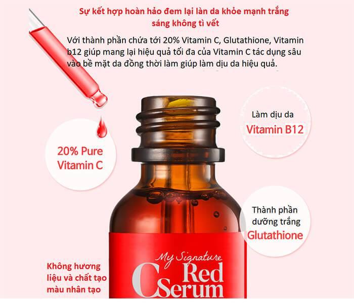 tiam my signature red c serum30ml