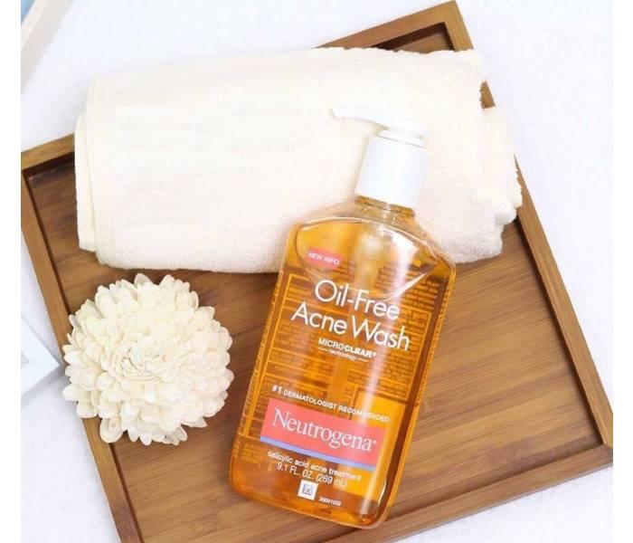 sữa rửa mặt neutrogena oil-free acne washcream cleanser