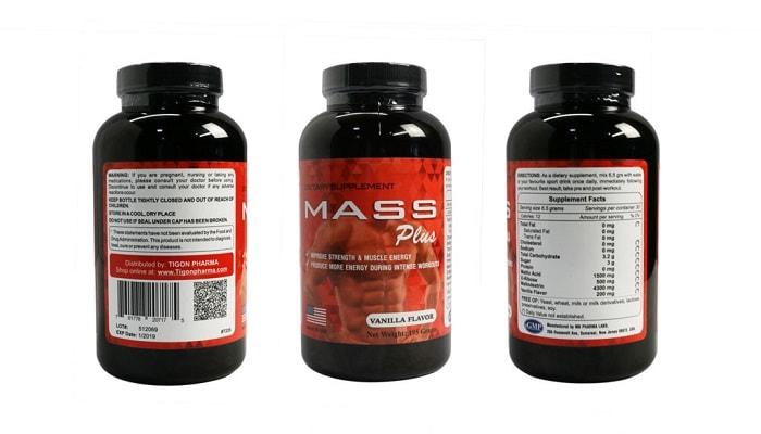 Thuốc tăng cân an toàn Mass Plus.