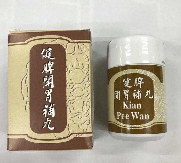 Thuốc tăng cân hiệu quả đến từ Malaysia Kian Pee Wan.