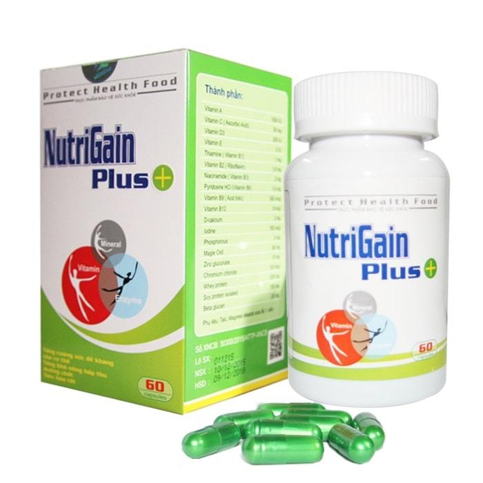 Thuốc tăng cân NutriGain Plus+.