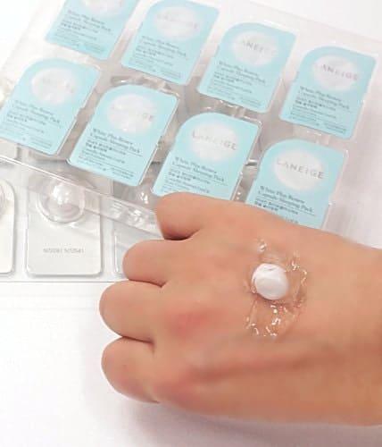 laneige white plus renew capsule sleeping pack review