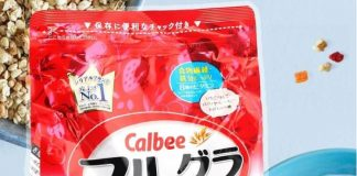 bột ngũ cốc giảm cânnhật bản