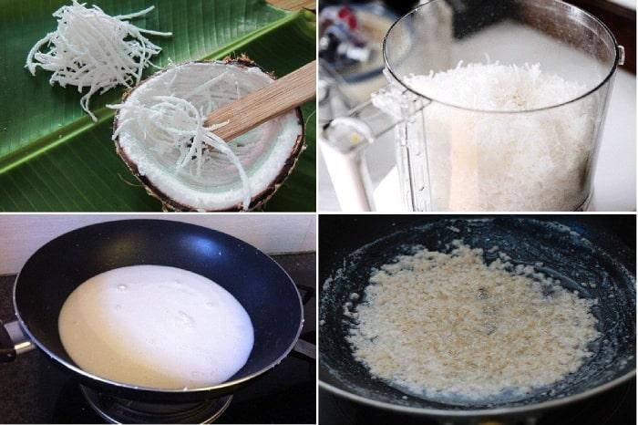 Cách làmdầu dừa nguyên chấttại nhà