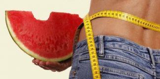 giảm cân bằng dưa hấu