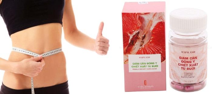giảm cân đông y chiết xuất từ bưởi