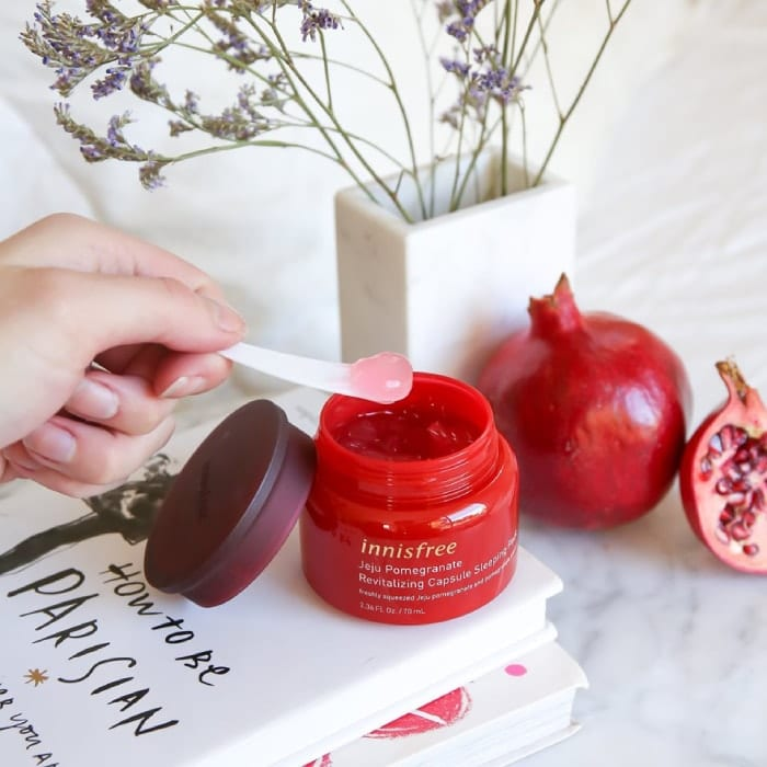innisfreejeju pomegranate revitalizing serumreview