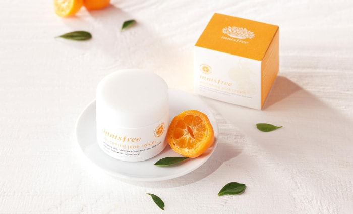 innisfree whitening pore cream review