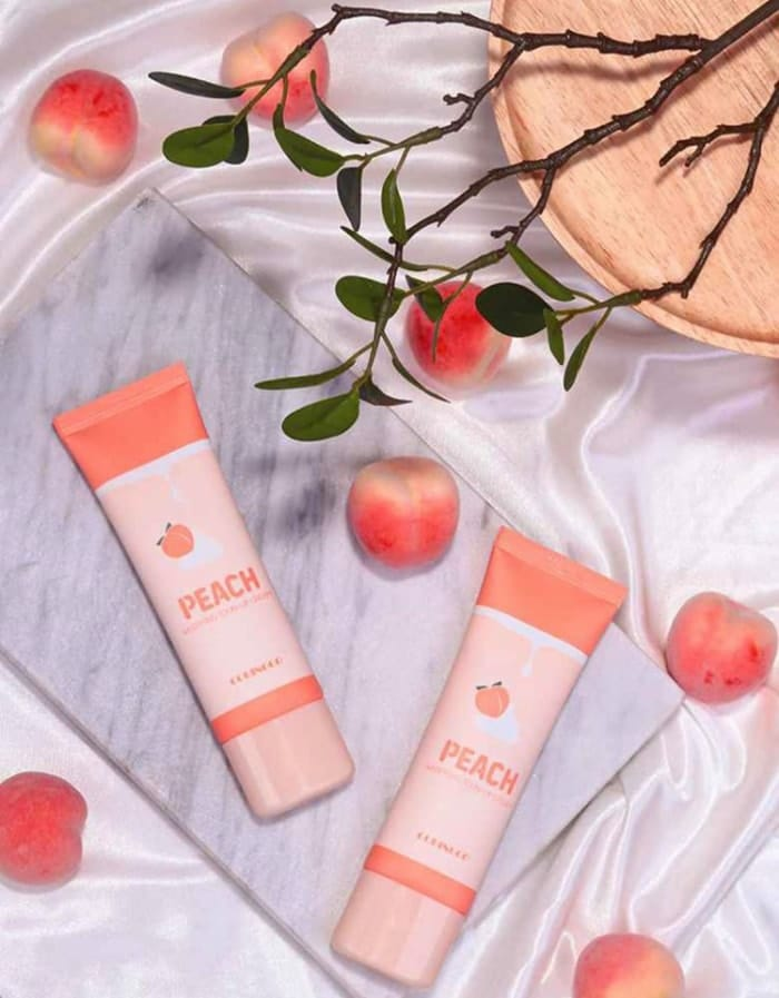 peach whipping tone up cream review