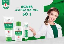 acnes trị mụn