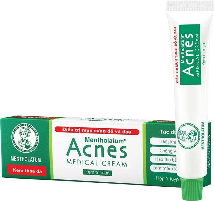 bộ sản phẩm trị mụn acnes